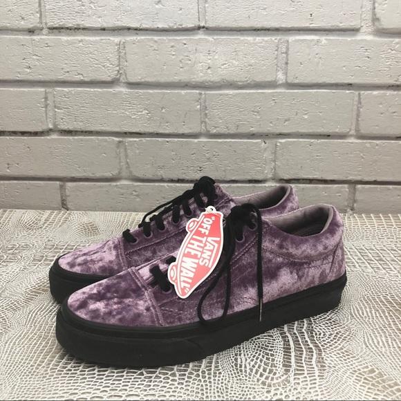 ed03bf749bfc Vans Old Skool Sneakers in Purple Velvet